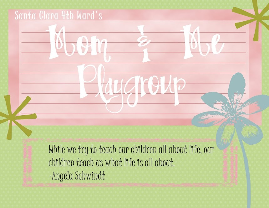 Mom & Me Playgroup