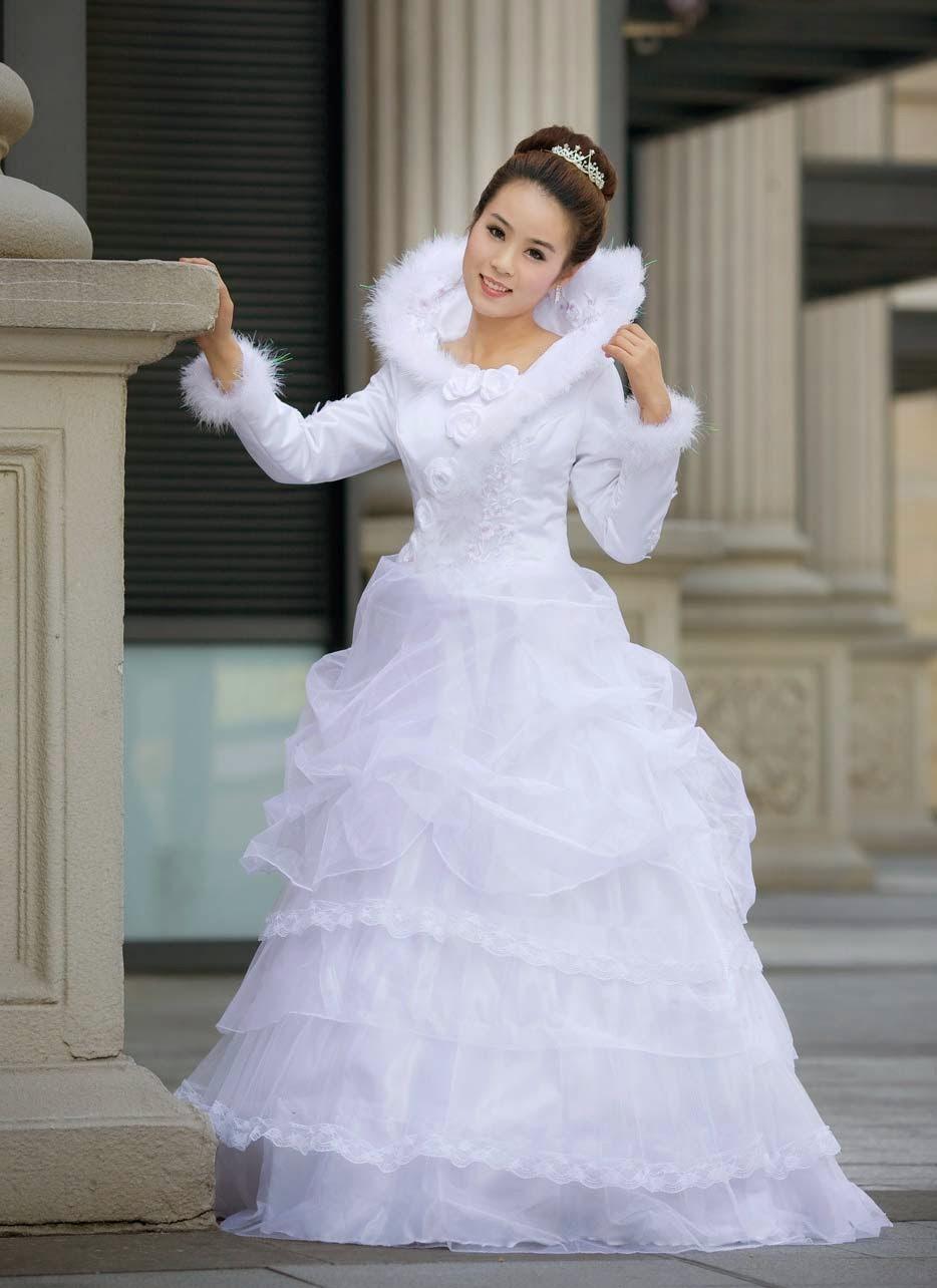 Disney Princess Maternity Wedding Dresses Long Sleeves Photos HD Ideas