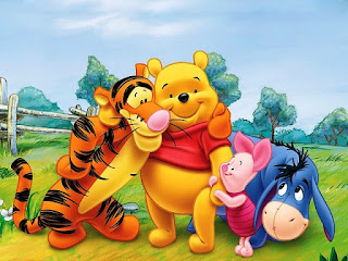 Winnie The Pooh dan teman-teman