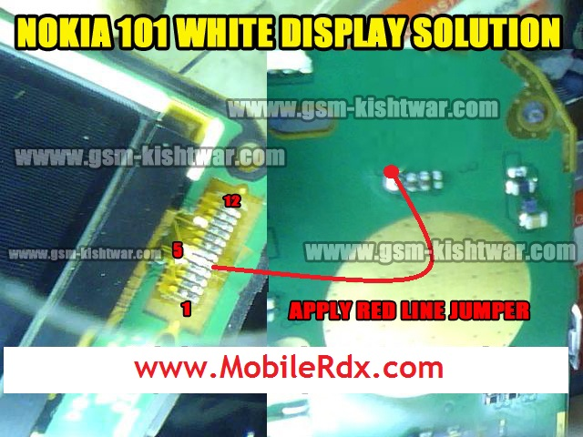 Here Are Nokia 101 White Display Problem Solution. Please Observe