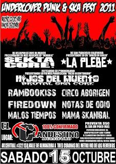 Undercover Punk y Ska Fest 2011