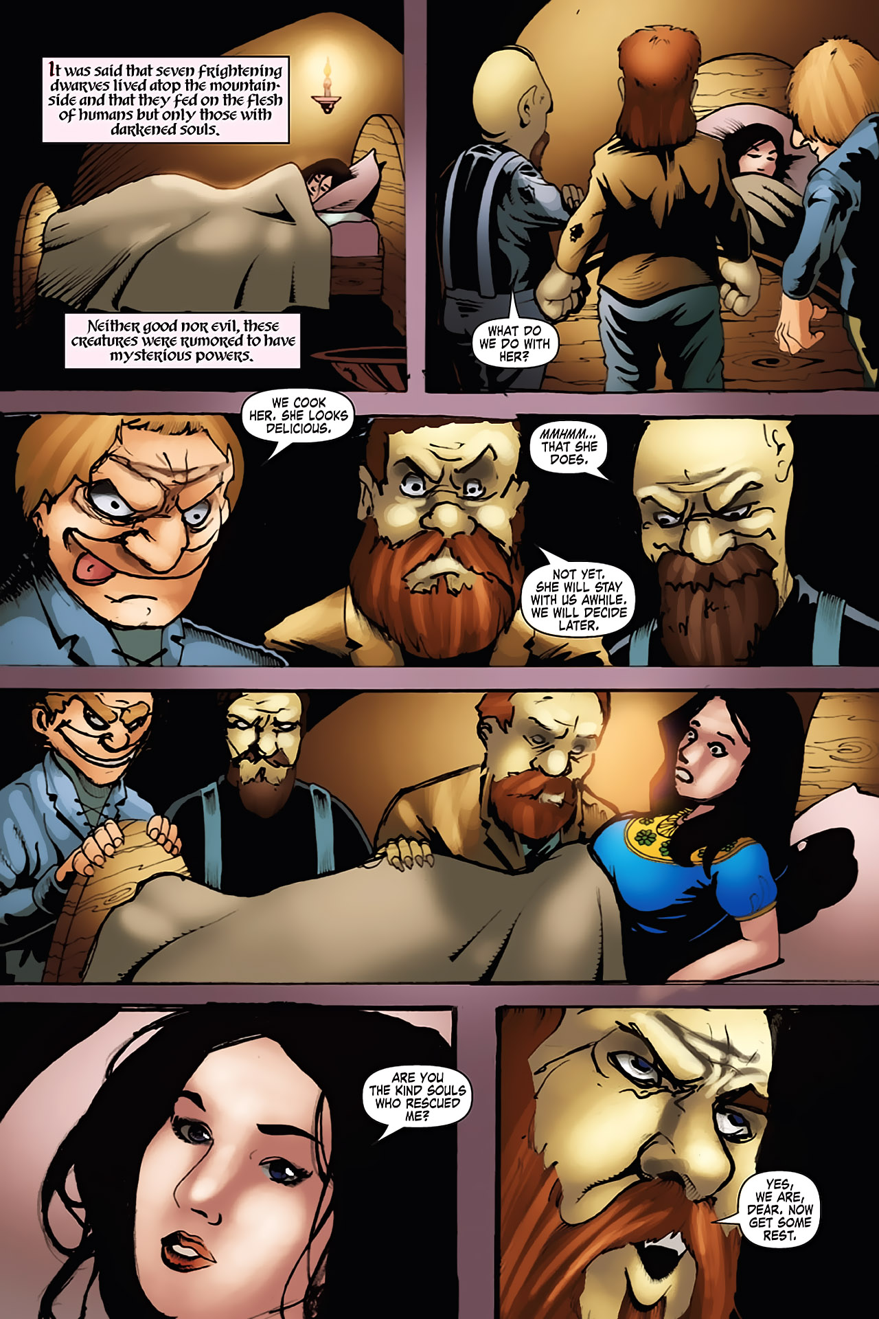 Grimm Fairy Tales (2005) Issue #7 #10 - English 15