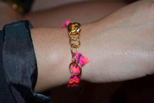 bracelet brésilien laine