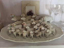 Min samling av antika Putz lamm