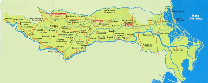 Il popolo veneto turismo polesine grandi orizzonti - Arredo bagno rovigo e provincia ...