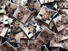 Sergio Leone badges / postcards