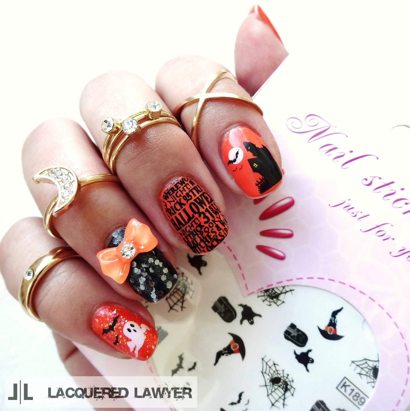 Happy Halloween Nails