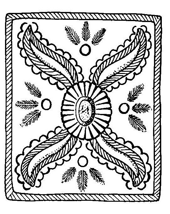 Mandalas Para Pintar Flores Segun Los Indios Navajos I - Mandalas-indios