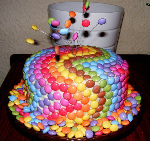 Торт на день рождения украшение своими руками