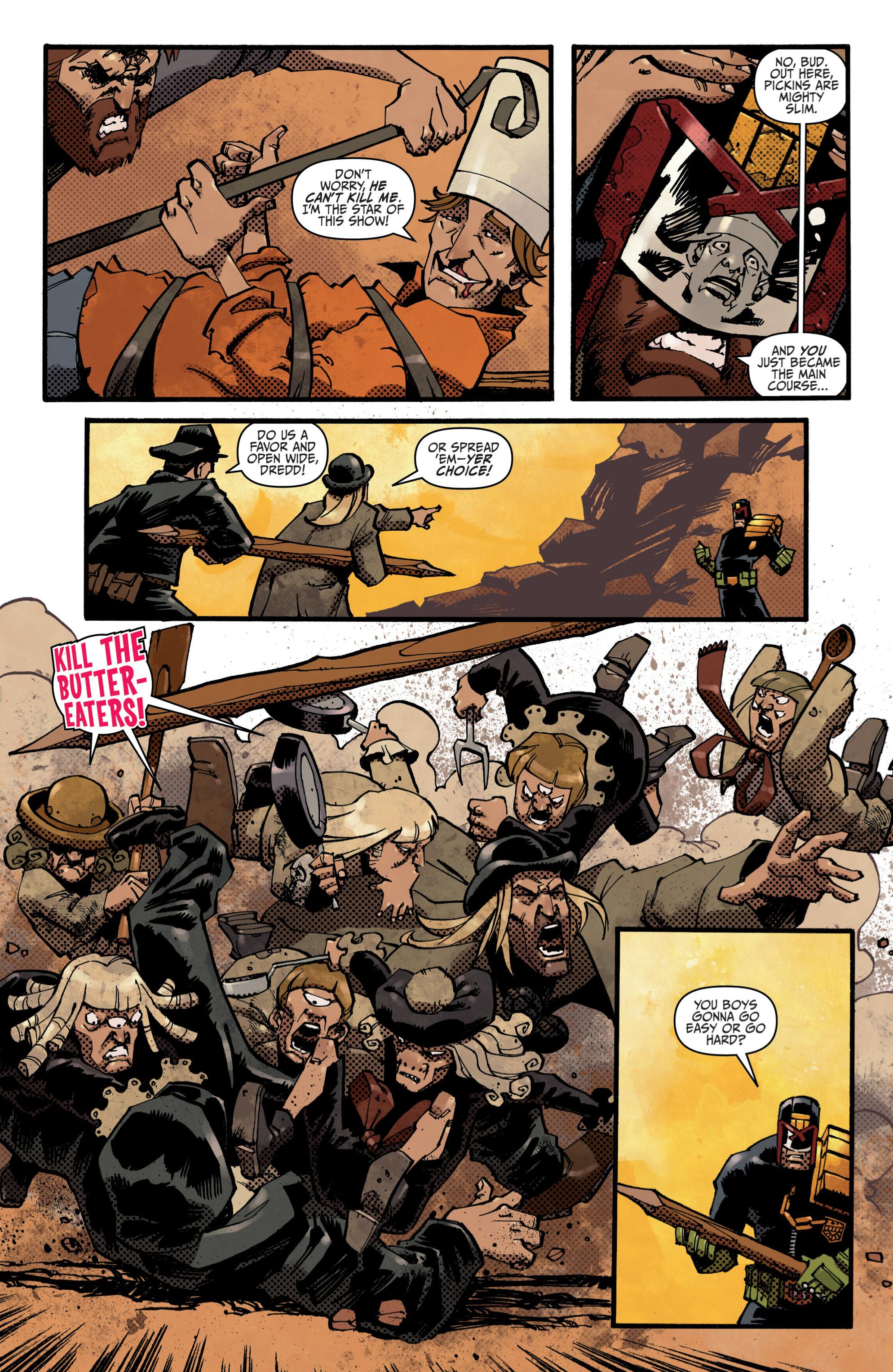 Read online Judge Dredd (2012) comic -  Issue # _TPB 3 - 81