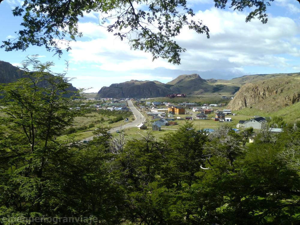 El Chaltén pueblo, patagonia