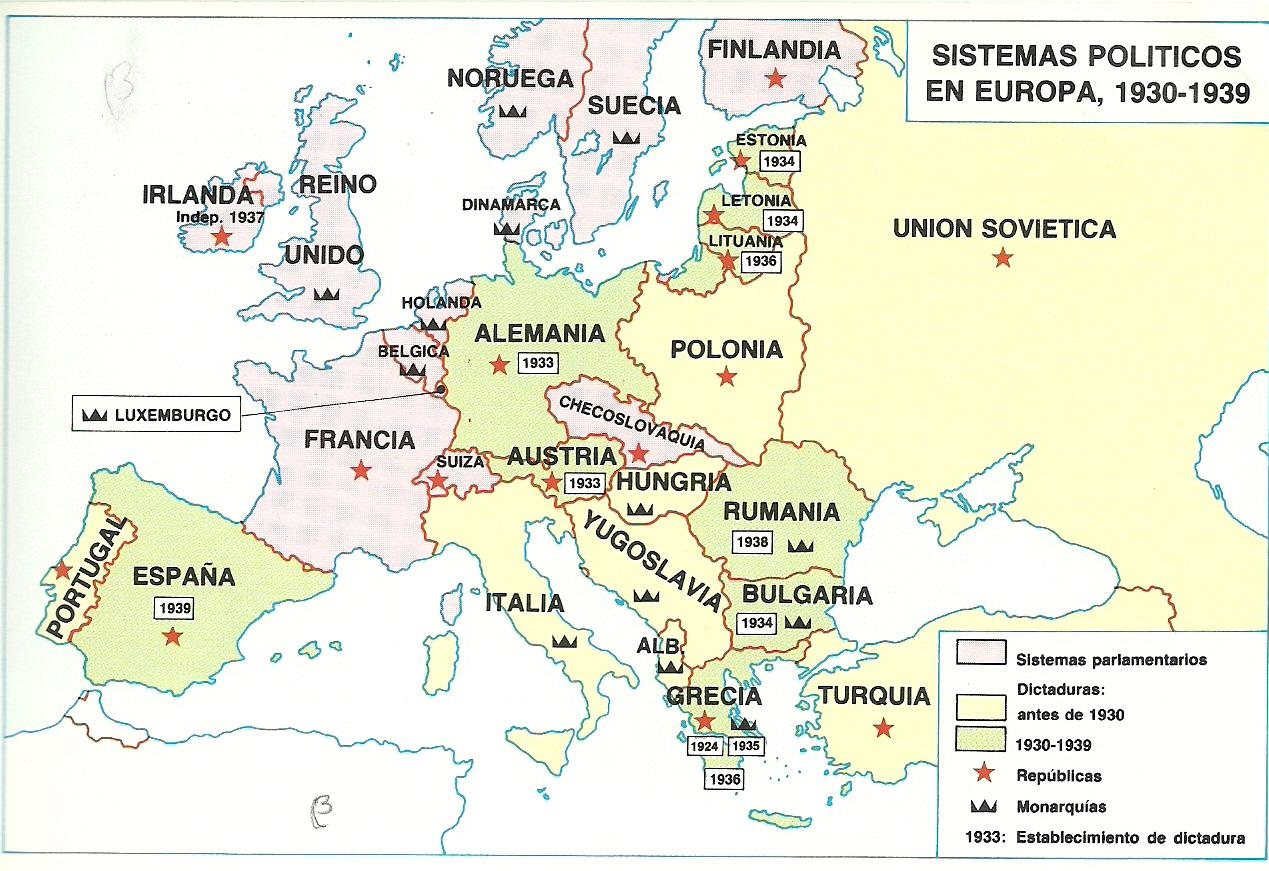 Repúblicas del Continente Europeo