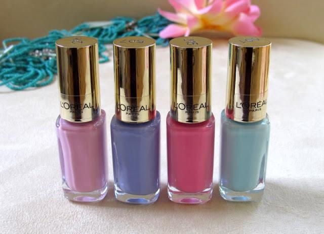 Milkshake in LA, Riviera Lavender, Monaco Rose, French Riviera L'oreal