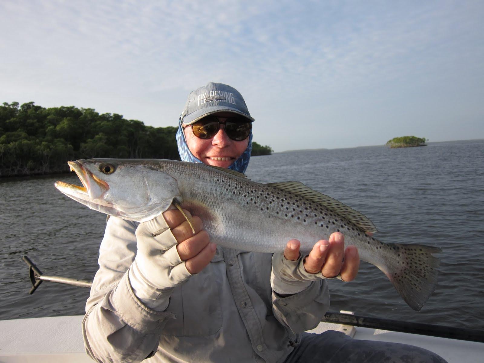 Flatsfishingonline capt bob lemay 39 s big trout for Capt bob fishing