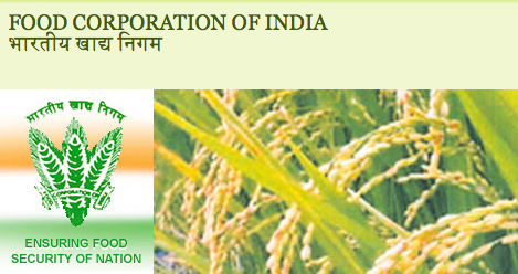 Food Corporation of India Recruitment 2013