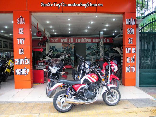 Sửa xe tay ga chuyên nghiệp ở Sài Gòn