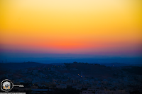 Colorful Sunrise in Amman