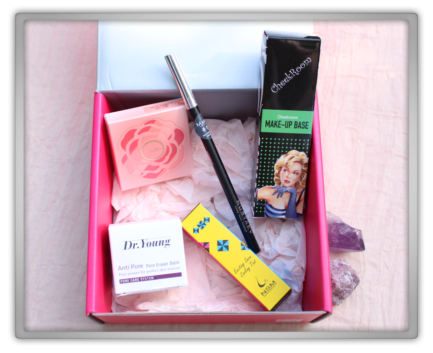 겟잇뷰티박스 by 미미박스 memebox makeup edition beautybox # unboxing review preview box look open