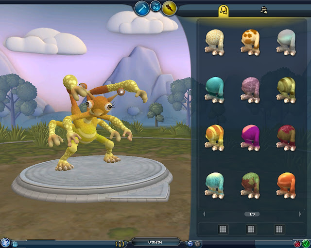 Spore - 6 Arms Creature Screenshot