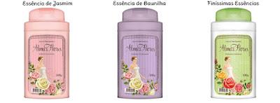 Talco perfumado Alma de Flores