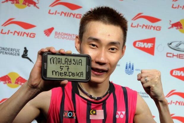 Siaran Langsung Chong wei Vs Chen Long Final Badminton Dunia 2014