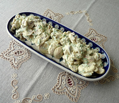 Curried Mushroom Salad