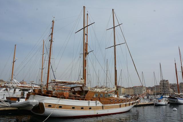 Vieux Port Marseille sail boat