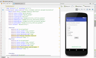 Preview Checkbox di Android Studio