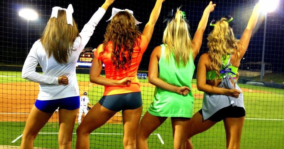 nfl and college cheerleaders photos tcu baseball cheerleaders