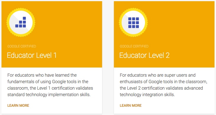 The Electric Educator: Google Certifications for Educators
