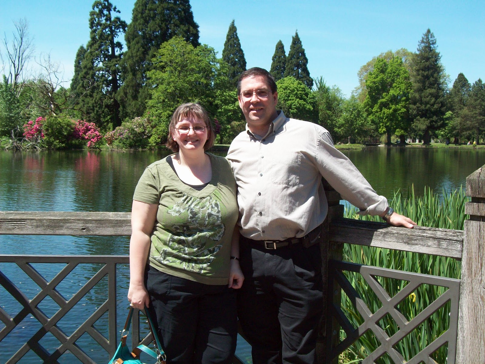 April's Homemaking: Mother's Day at The Rhododendron Gardens