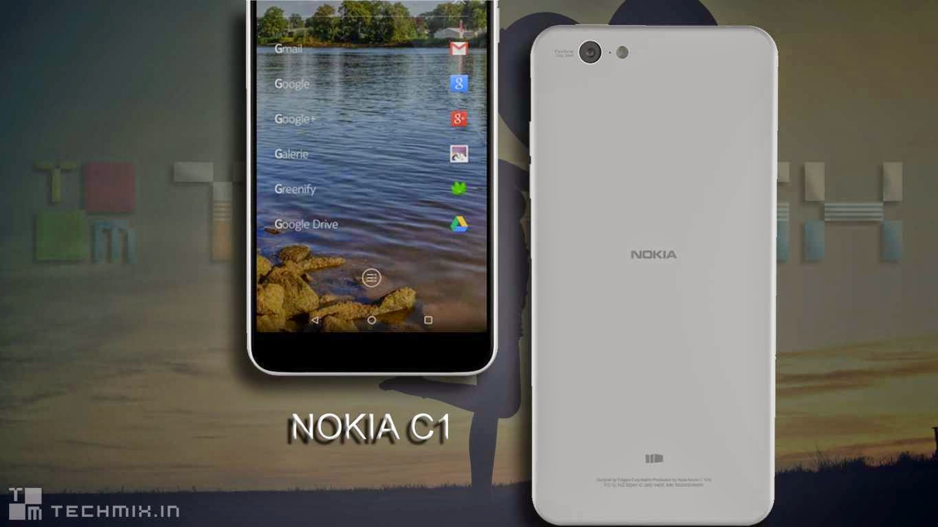 Nokia C1 Android 5.0 Lollipop Smartphone Specifications