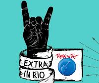 Promoção Jornal Extra Rock in Rio