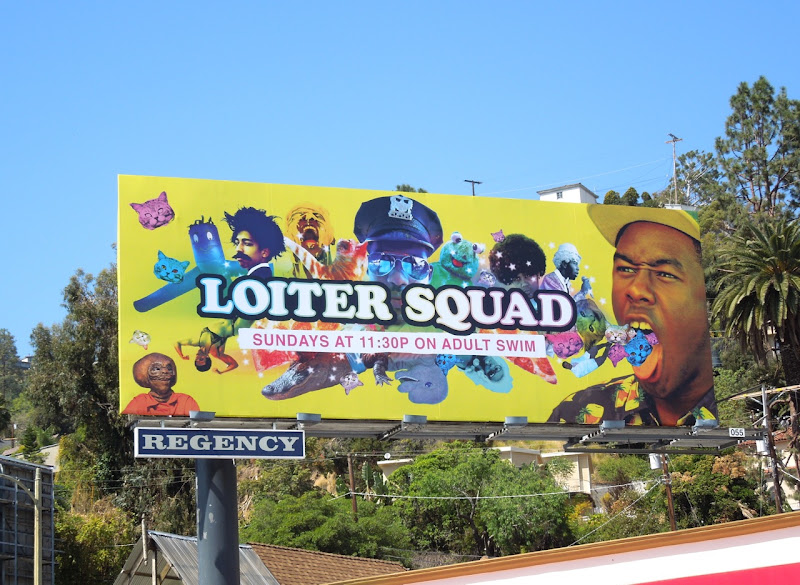 Loiter Squad billboard