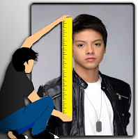 What is Daniel Padilla's Height?