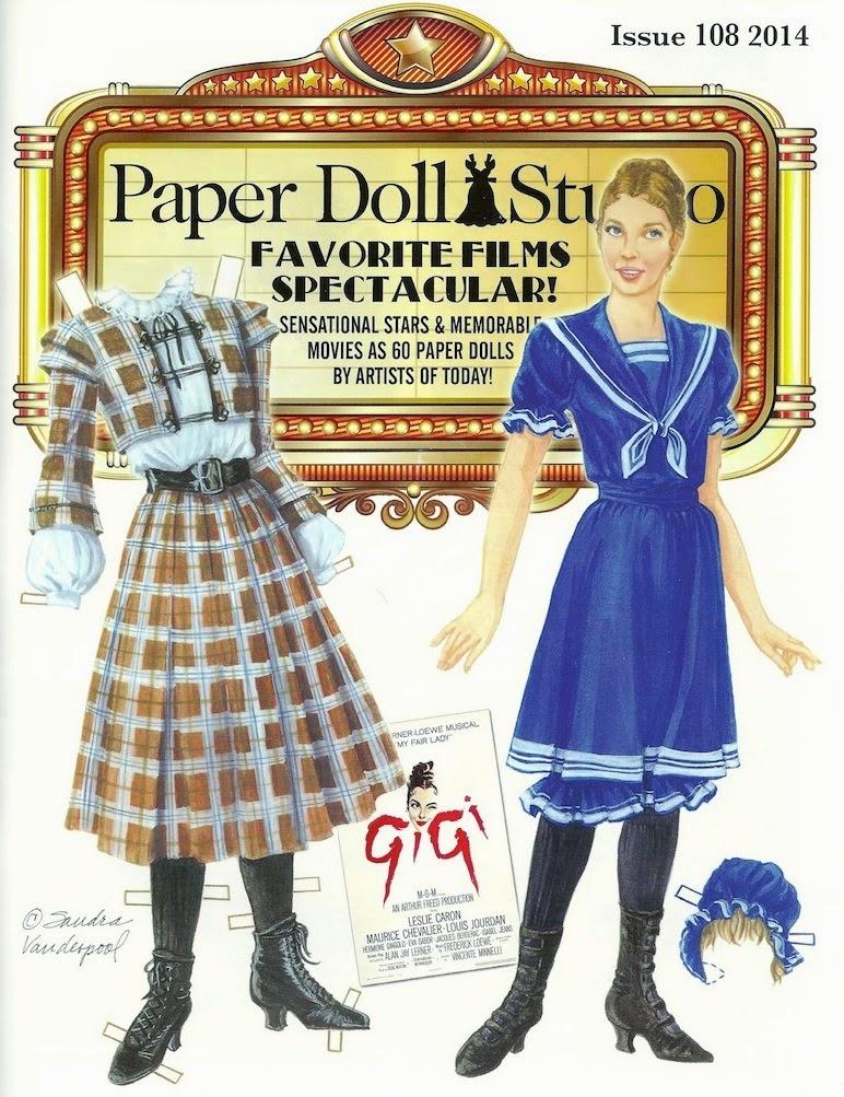 Шаблон одежды для вырезания кукол