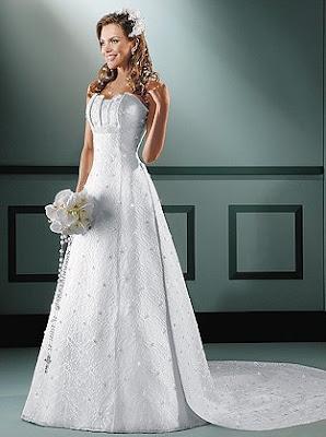 Vestido de noiva, tomara que caia