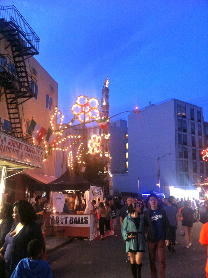 The Giglio Feast Street Fair