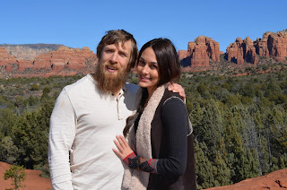 Bella Twins Brianna with loving boyfriend