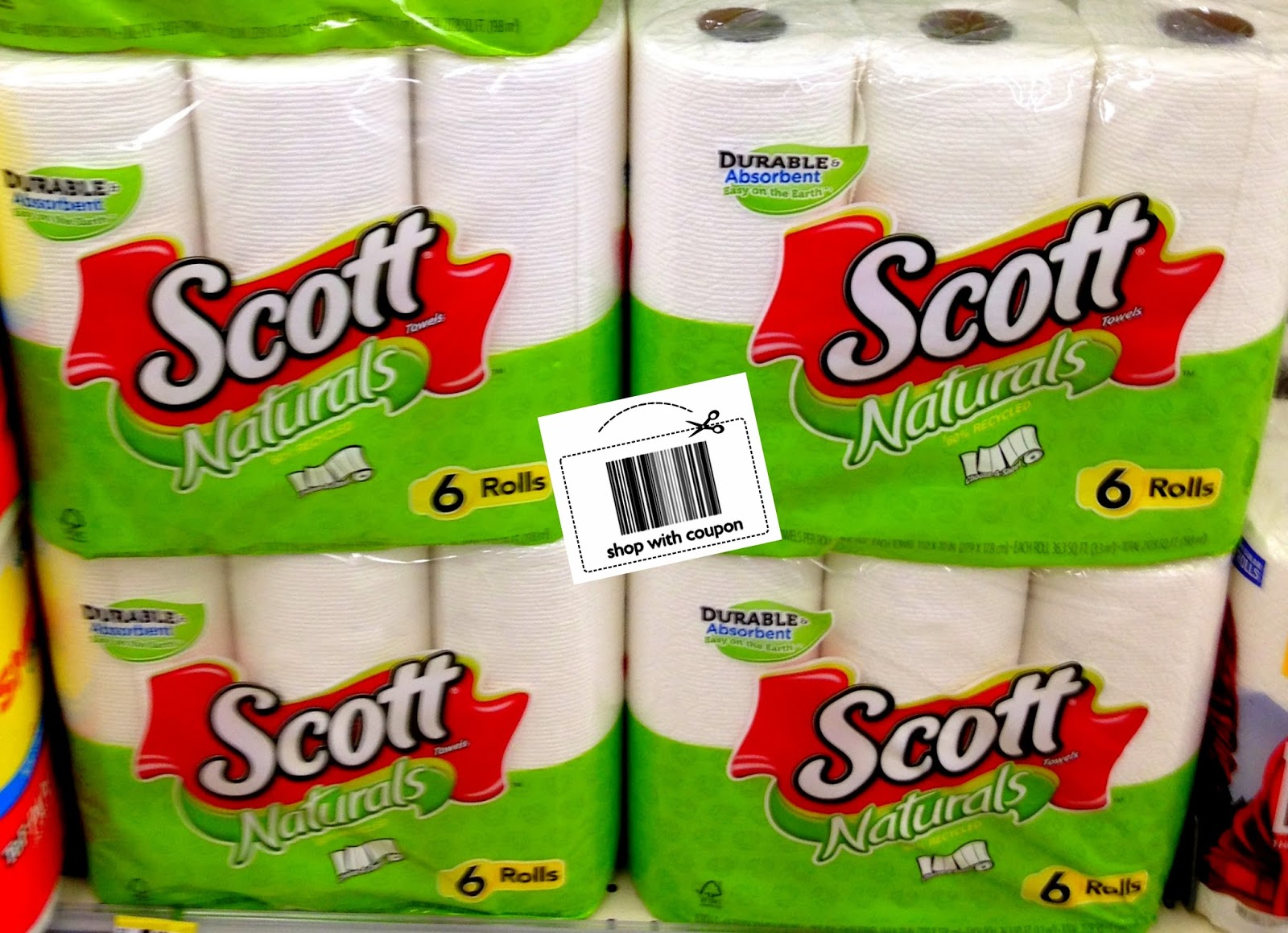 Scott paper towel coupons november 2018