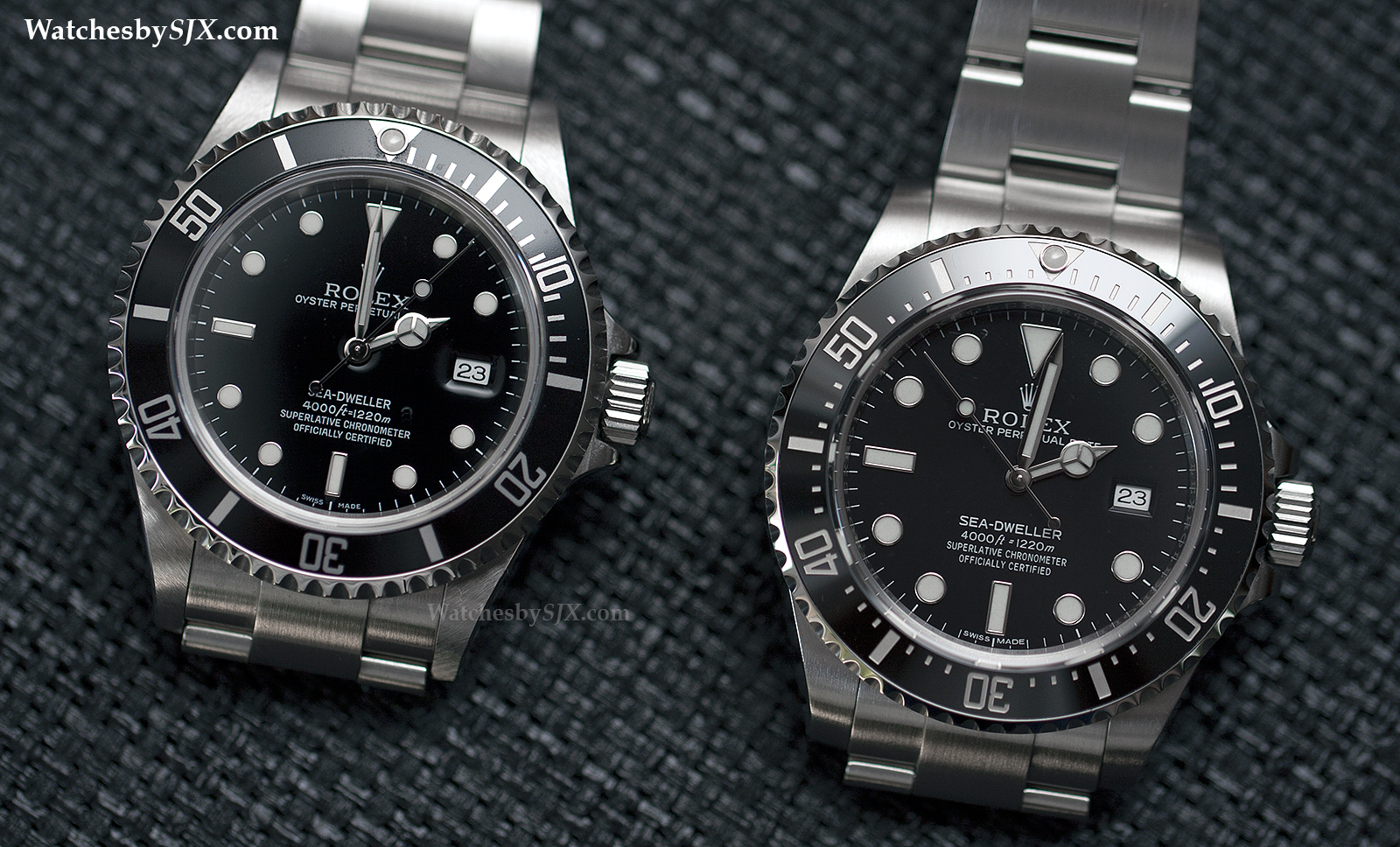 Rolex Sea Dweller 16600 Replica The Rolex Sea-dweller Left