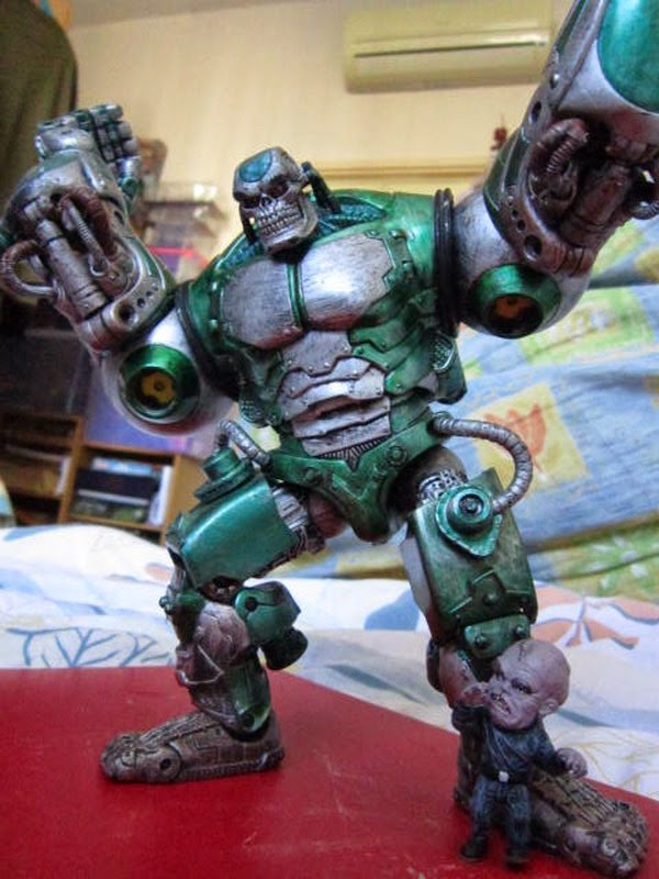 Marvel Legends Universe Mecha Hulk Gremlin pilot classic series loose 7 inch figure Avengers comic movie Agents Smash SHIELD S.H.I.E.L.D.