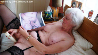old granny masturbating