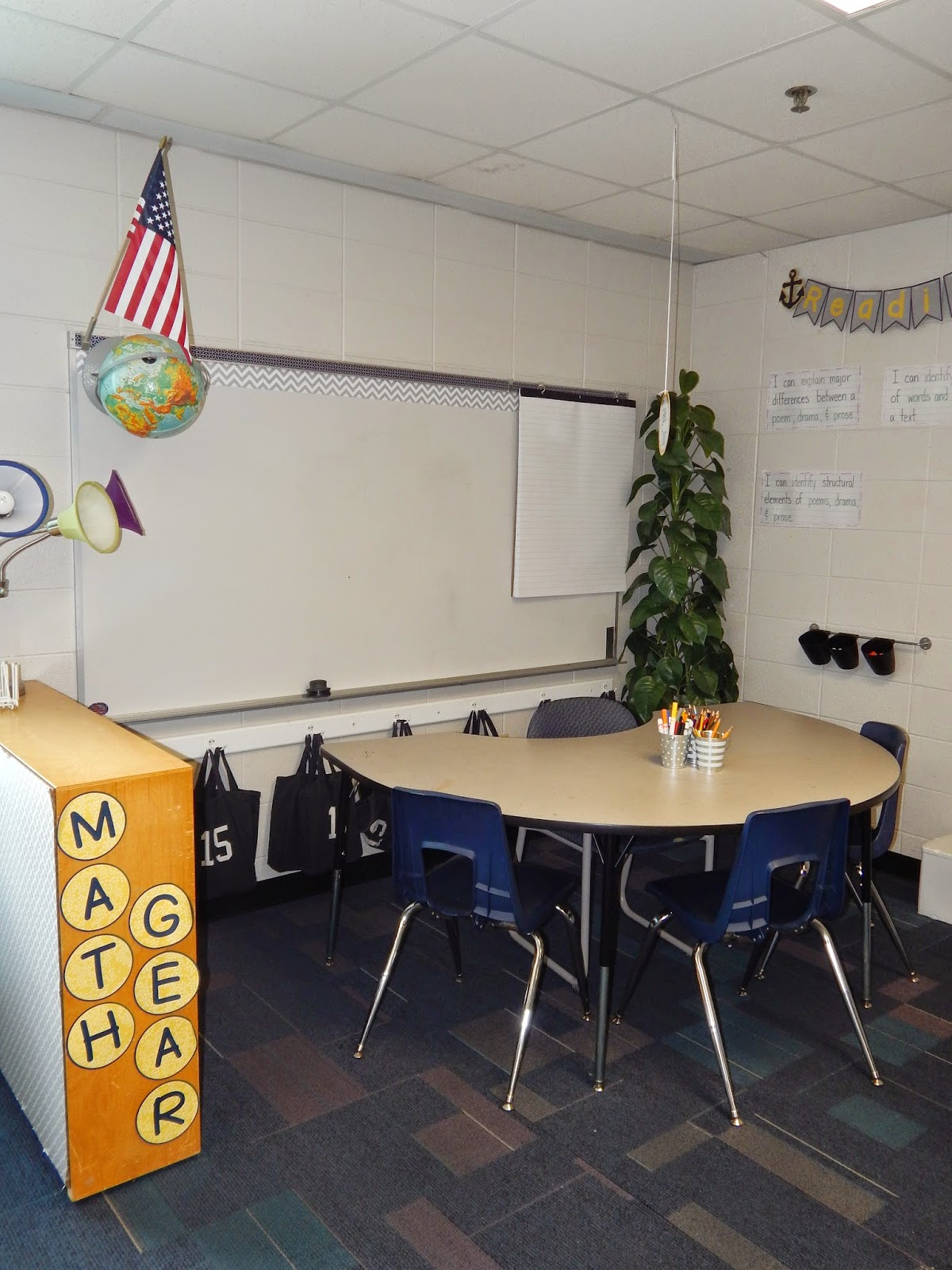 New Classroom Set Up Encouraging Self Directed Learning and