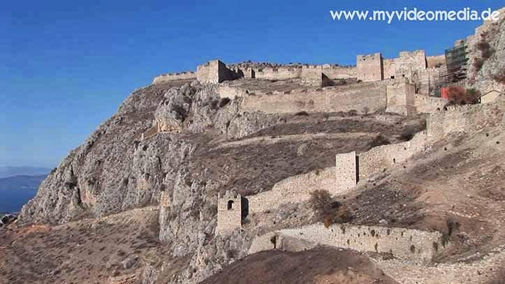 citadel ancient corinth
