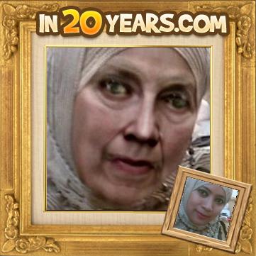prediksi wajah Anda 20 tahun atau 30 tahun Lebih tua