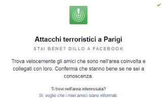 """Dopo Gli Attentati Di Parigi  Facebook Attiva Il Safety Check """"Trova i tuoi amici"""""""