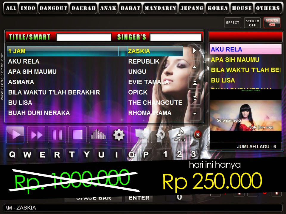 Jual Software Karaoke