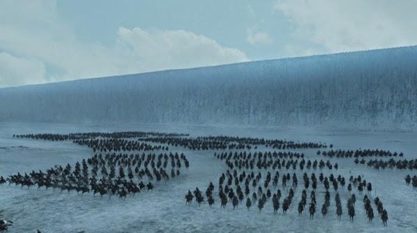 La carga del ejército de Stannis