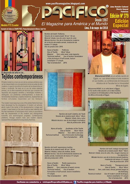 Revista Pacifico Nº 379 Edición Especial Egipto